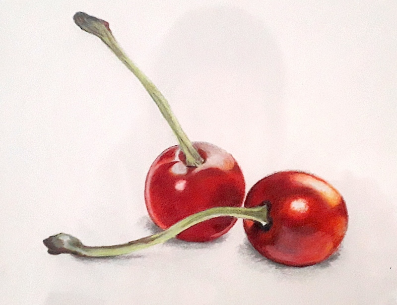 cherries-aquarel